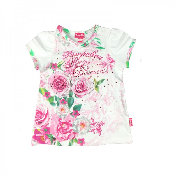 PAMPOLINA 6563211 T-Shirt 1/4 Arm - Rose Bouquets